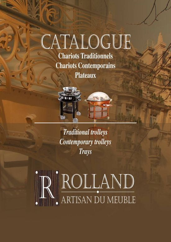 catalogue Richard ROLLAND